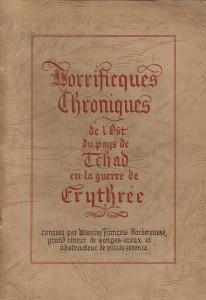 Couverture de la plaquette de François Garbit. (© Fondation de la France Libre)