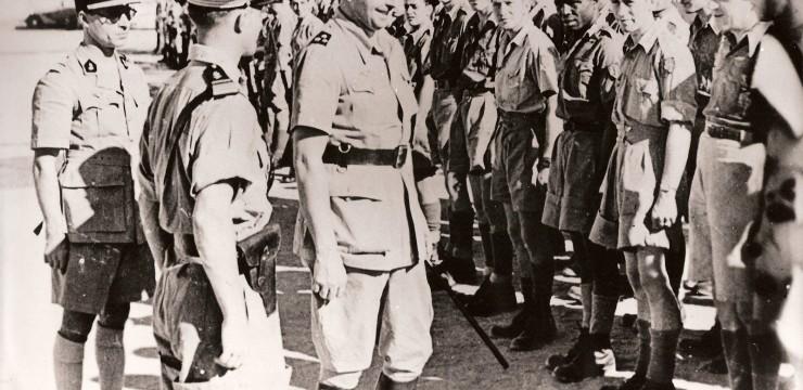 Le ralliement du colonel de Larminat