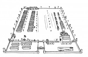 camp de concentration de Miranda plan