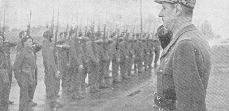 Les jeunes volontaires de juin 1940