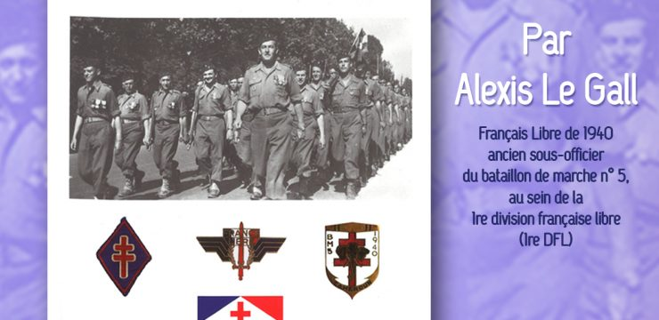 Alexis Le Gall, le parcours d'un Français Libre (conférence)