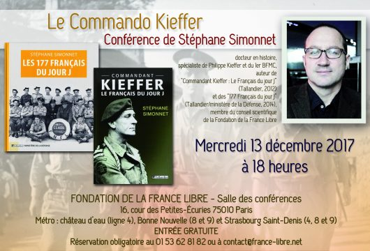 Le Commando Kieffer (conférence)