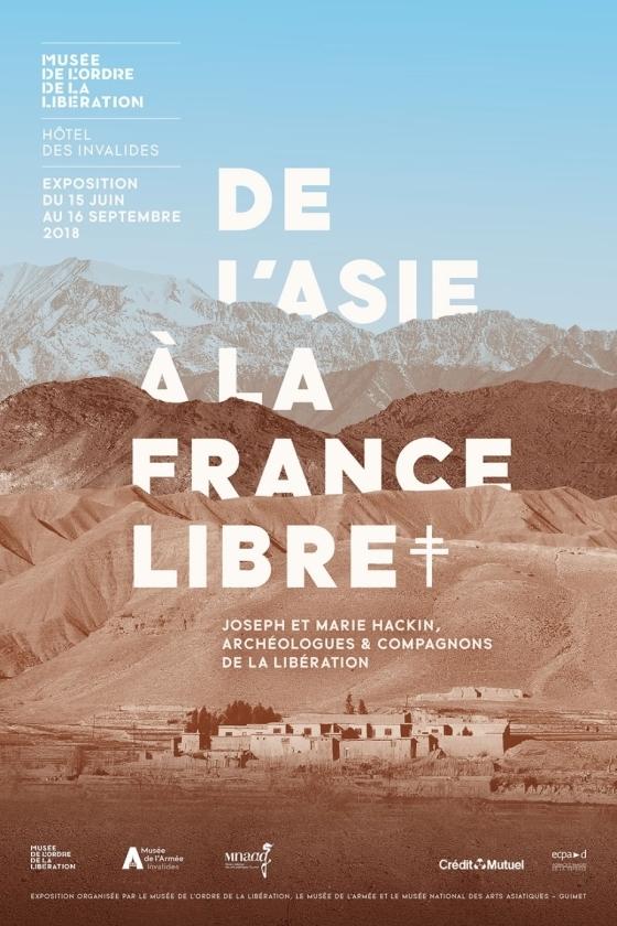 De l'Asie à la France Libre. Joseph et Marie Hackin, archéologues et Compagnons de la Libération (exposition)