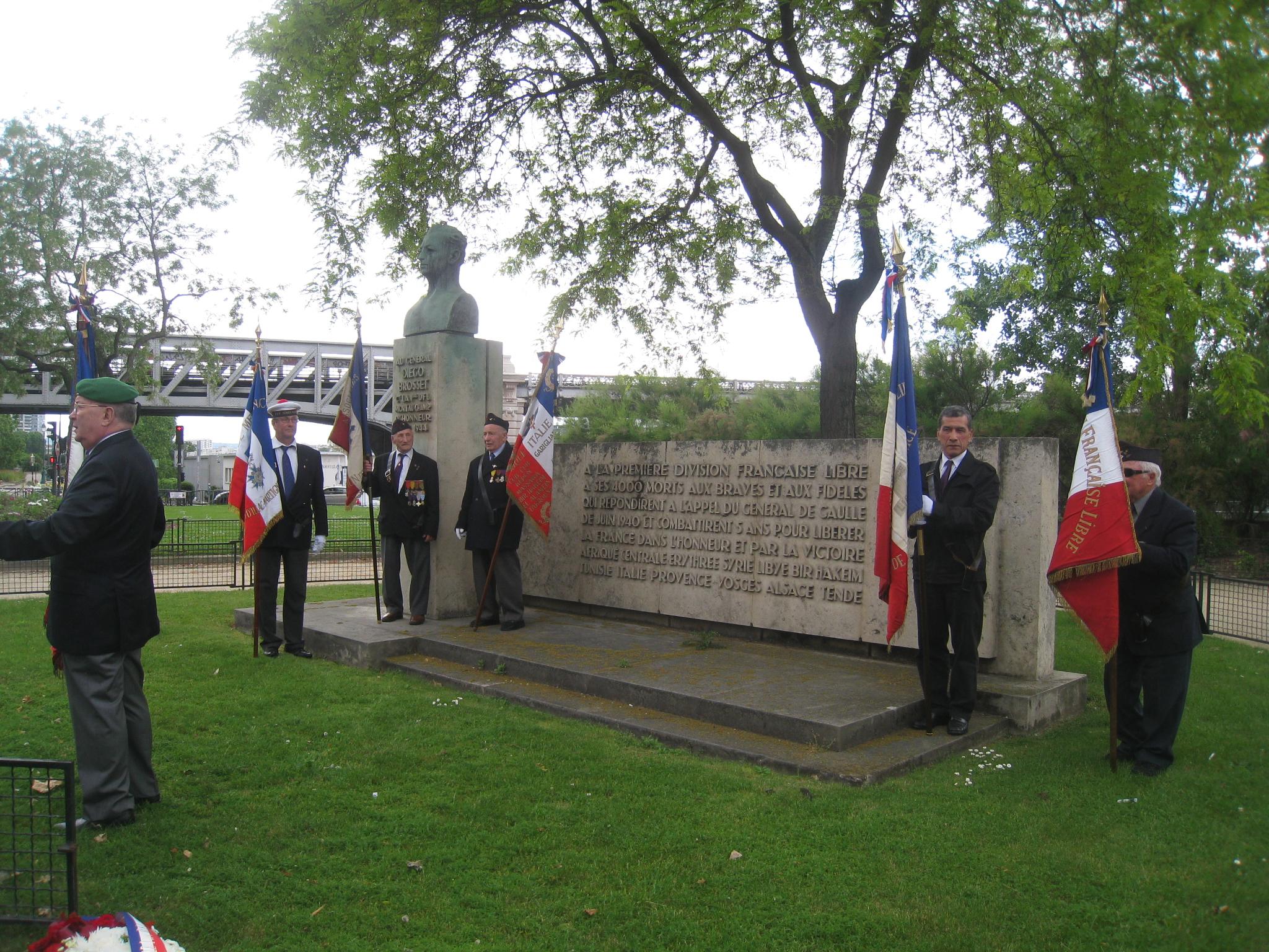 76e anniversaire de la bataille de Bir Hakeim (cérémonie)