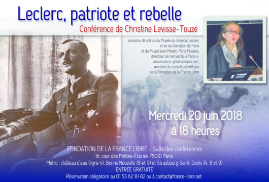 Leclerc, patriote et rebelle (conférence)