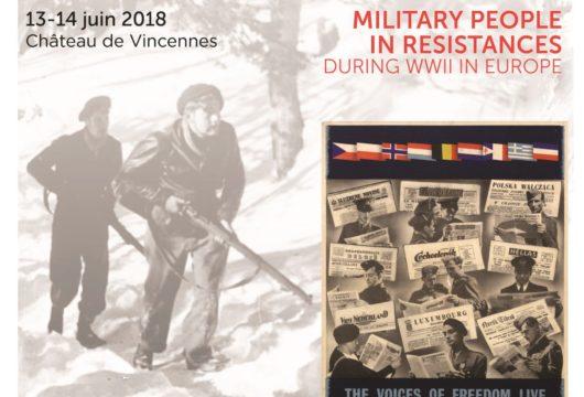 Militaires en résistances pendant la Seconde Guerre mondiale (colloque international)