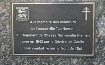 Hommage à l'escadrille Le Havre du régiment Normandie-Niémen