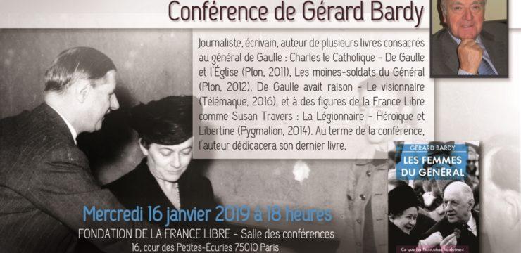 Les femmes du Général (conférence)