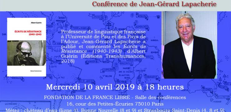 Albert Guérin (conférence)