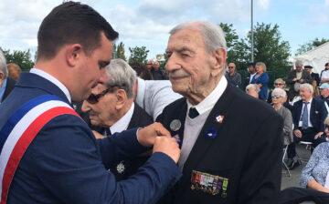 5 juin 2019 à Ouistreham : hommage aux marins FNFL