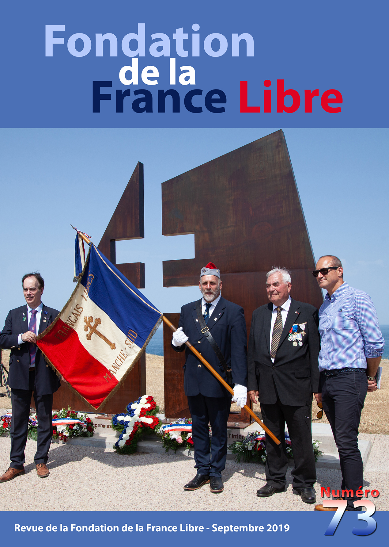 Fondation de la France Libre, n° 73, septembre 2019