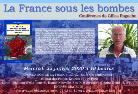 La France sous les bombes (conférence)