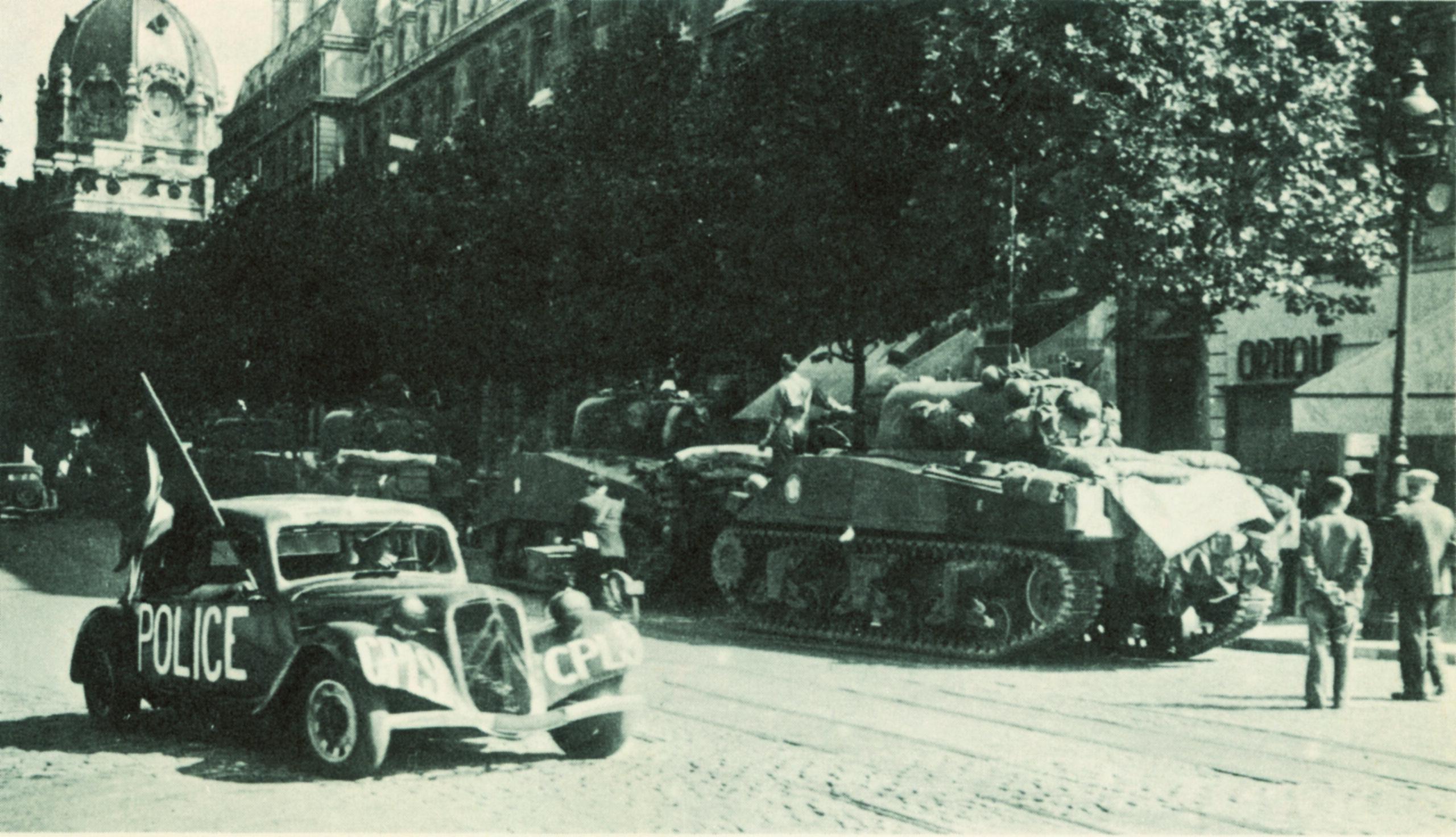 La libération de Paris (24-25 août 1944)