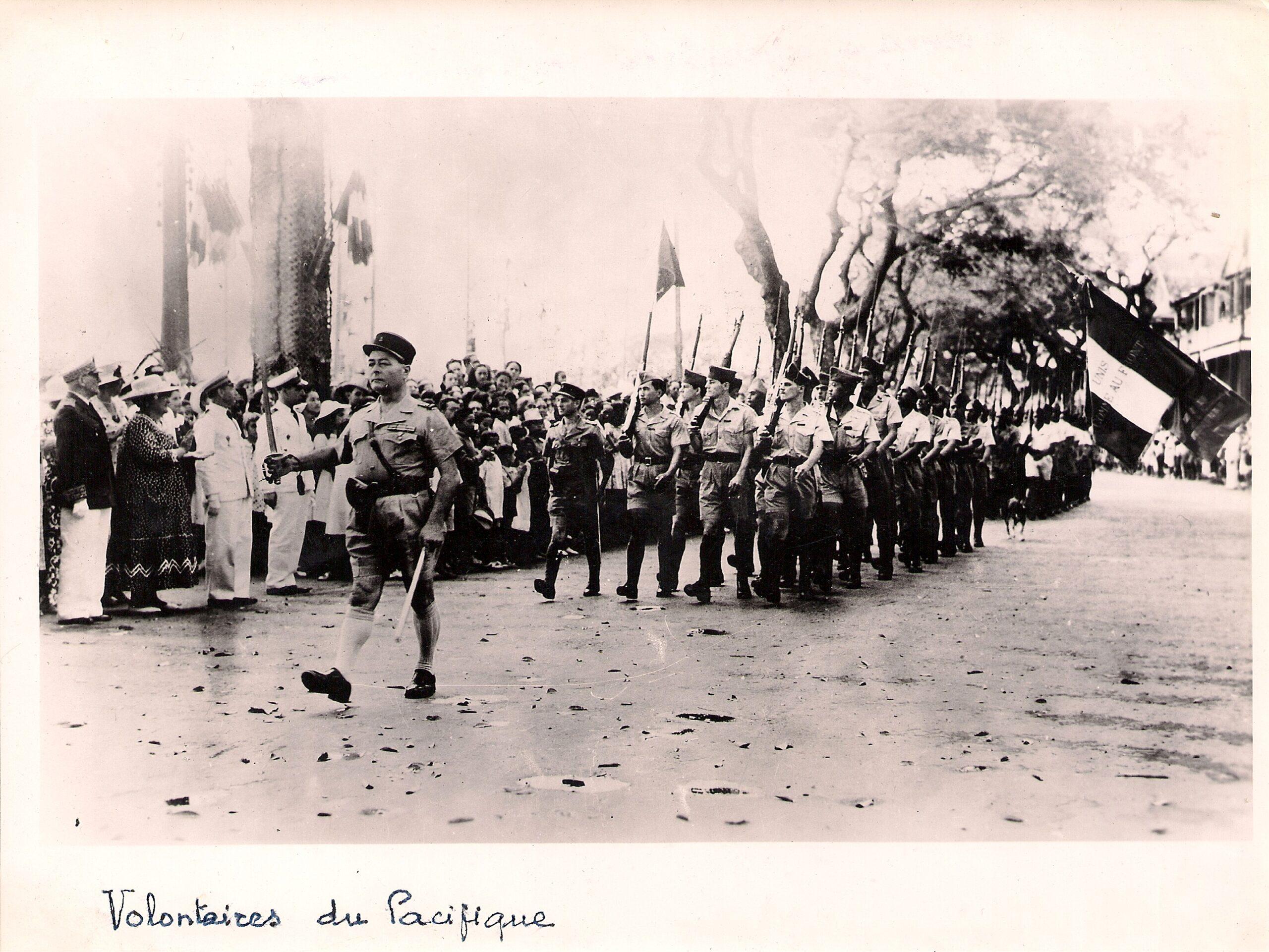 Le 18 juin 1940 à Nouméa