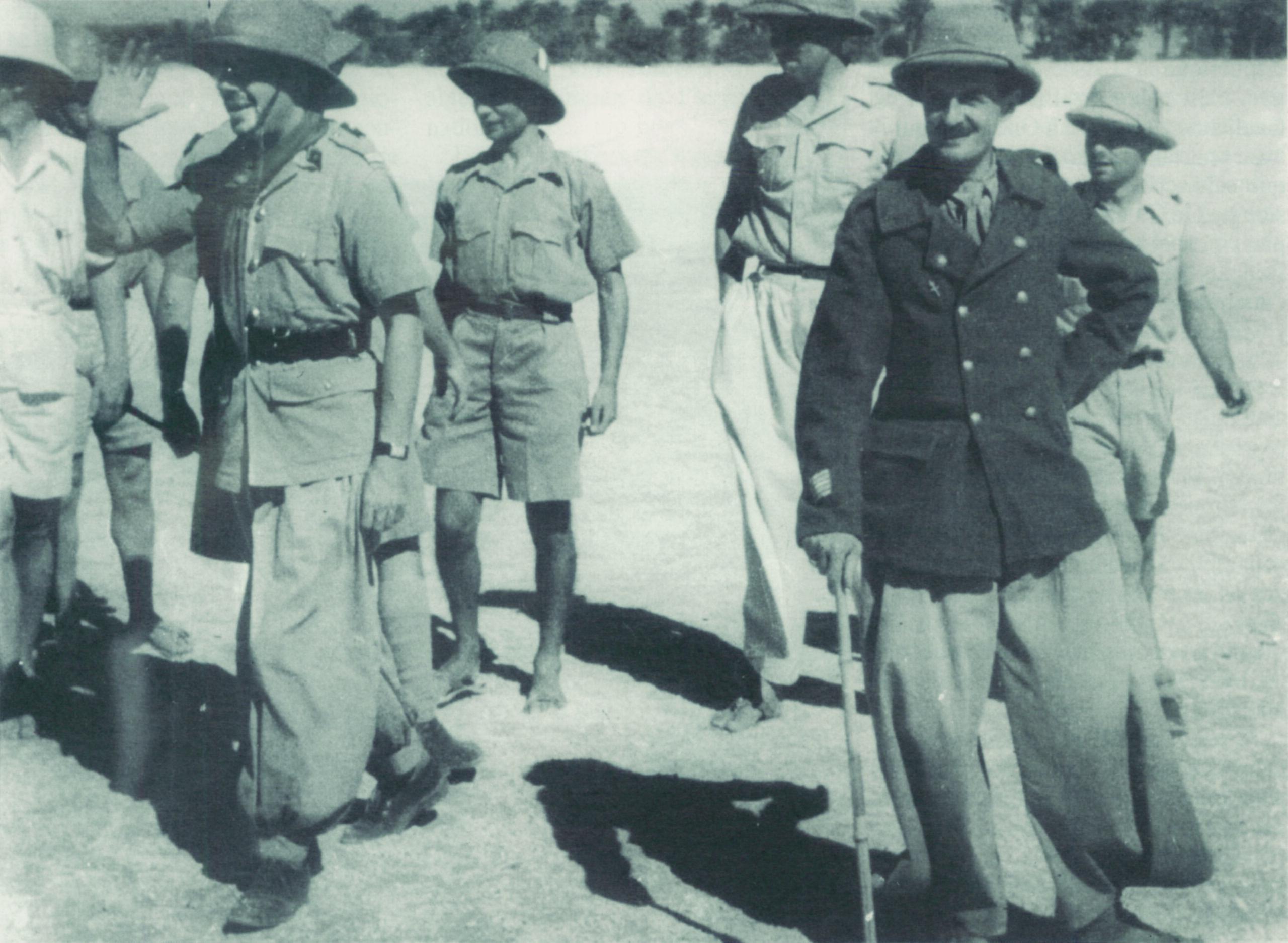 1941, les combats en Afrique équatoriale française libre : Koufra