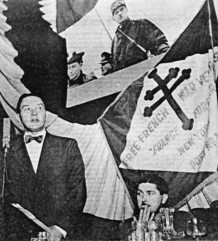 Le comité de la France Libre des États-Unis