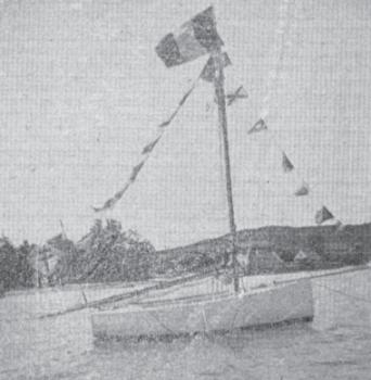 Évasion de trois jeunes gens à bord d'un cotre