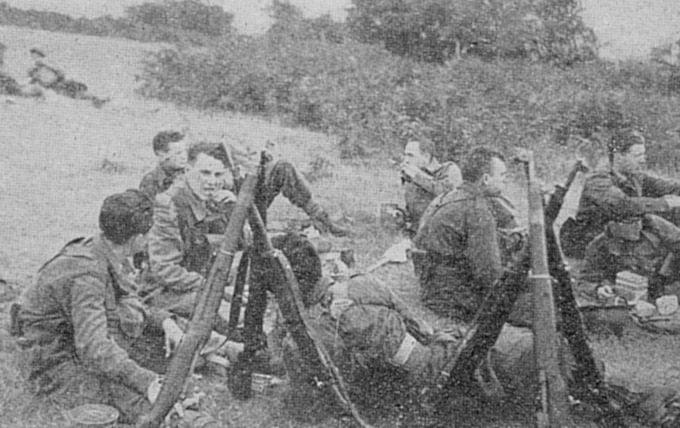 Le bataillon de chasseurs de Camberley