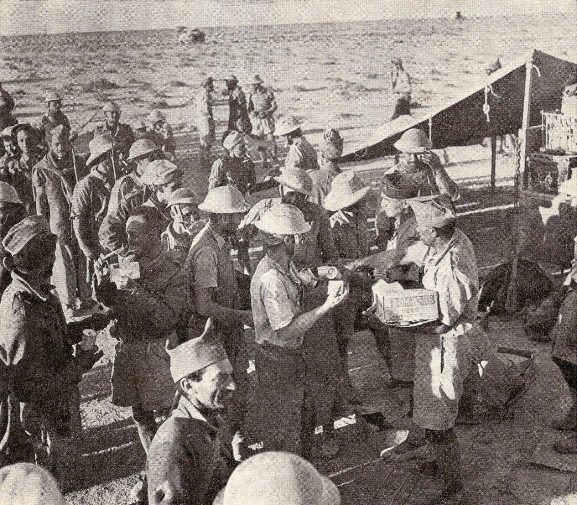 La D.F.L. reçoit l'ordre de s'installer à Bir-Hakeim le 14 février 1942