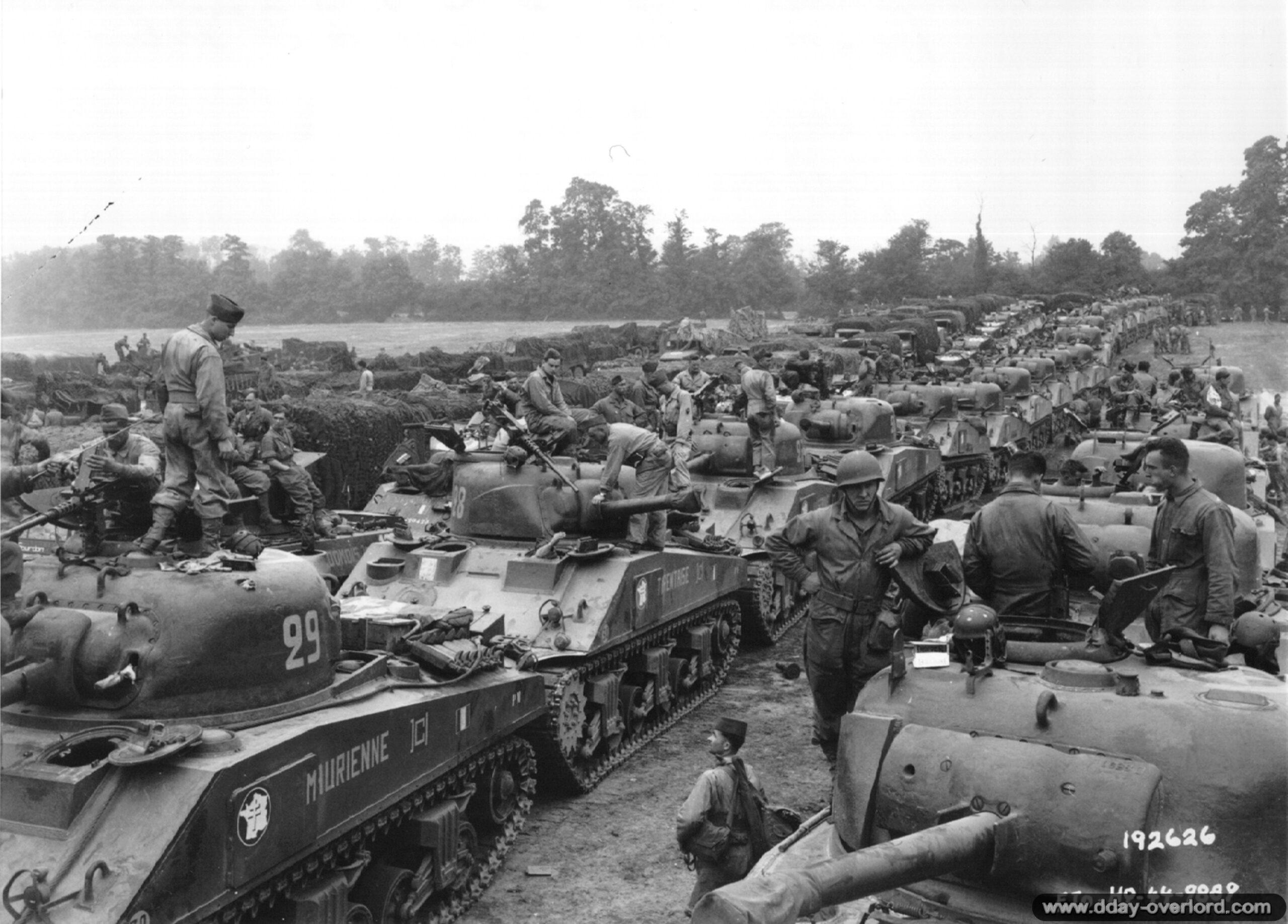 Souvenirs des combats de la libération de Normandie, par Philippe Grard