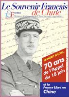 Le Souvenir français de Chine, n° 40, juin 2010 (périodique)