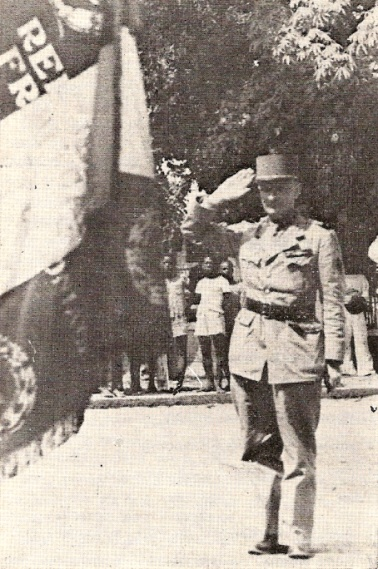 Le général de corps d'armée Raymond Delange
