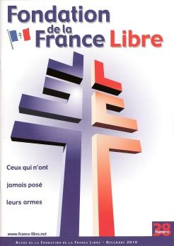 Fondation de la France Libre, n° 38, décembre 2010 (périodique)