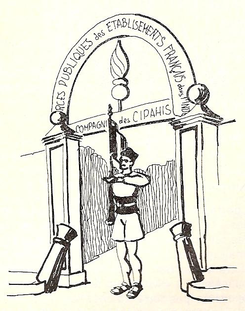 Les volontaires pondichériens, par Henri Vignes