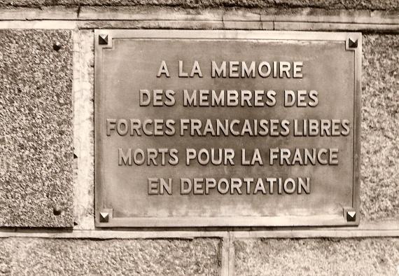 L'hommage aux FFL morts en déportation