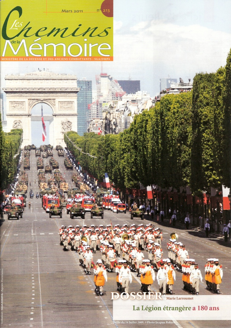 Les Chemins de la Mémoire, n° 213, mars 2011 (périodique)