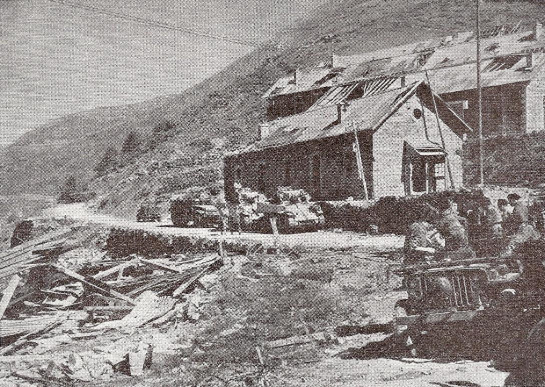 Les groupes d'assaut de la 1re D.F.L. sur le front des Alpes