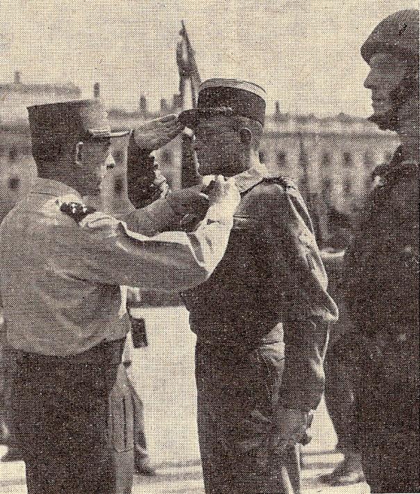 Le chef de bataillon Mirkin