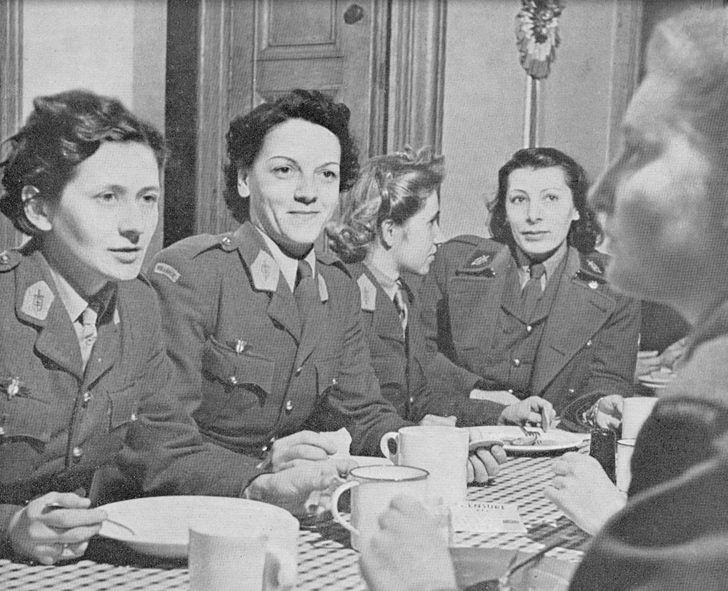 Les Volontaires françaises à Londres