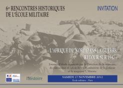 L'Afrique du Nord dans la guerre. Retour sur 1942 (journée d'étude)
