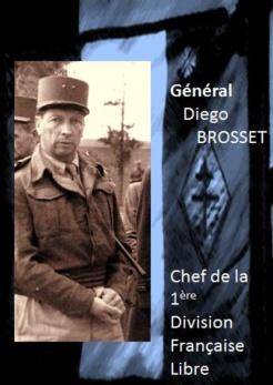 Général Diego Brosset, commandant de la 1re division française libre (brochure)