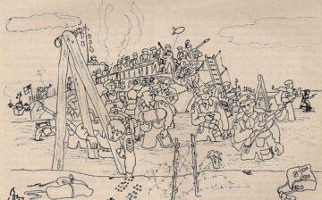 Le 1er B.F.M. – commando débarque, par Maurice Chauvet