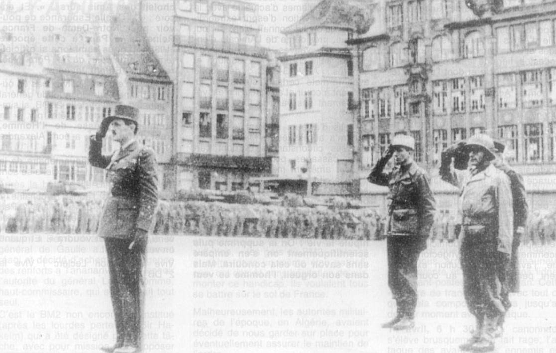 Il y a cinquante ans, la 2e DB libère Strasbourg, par Gérard Michel