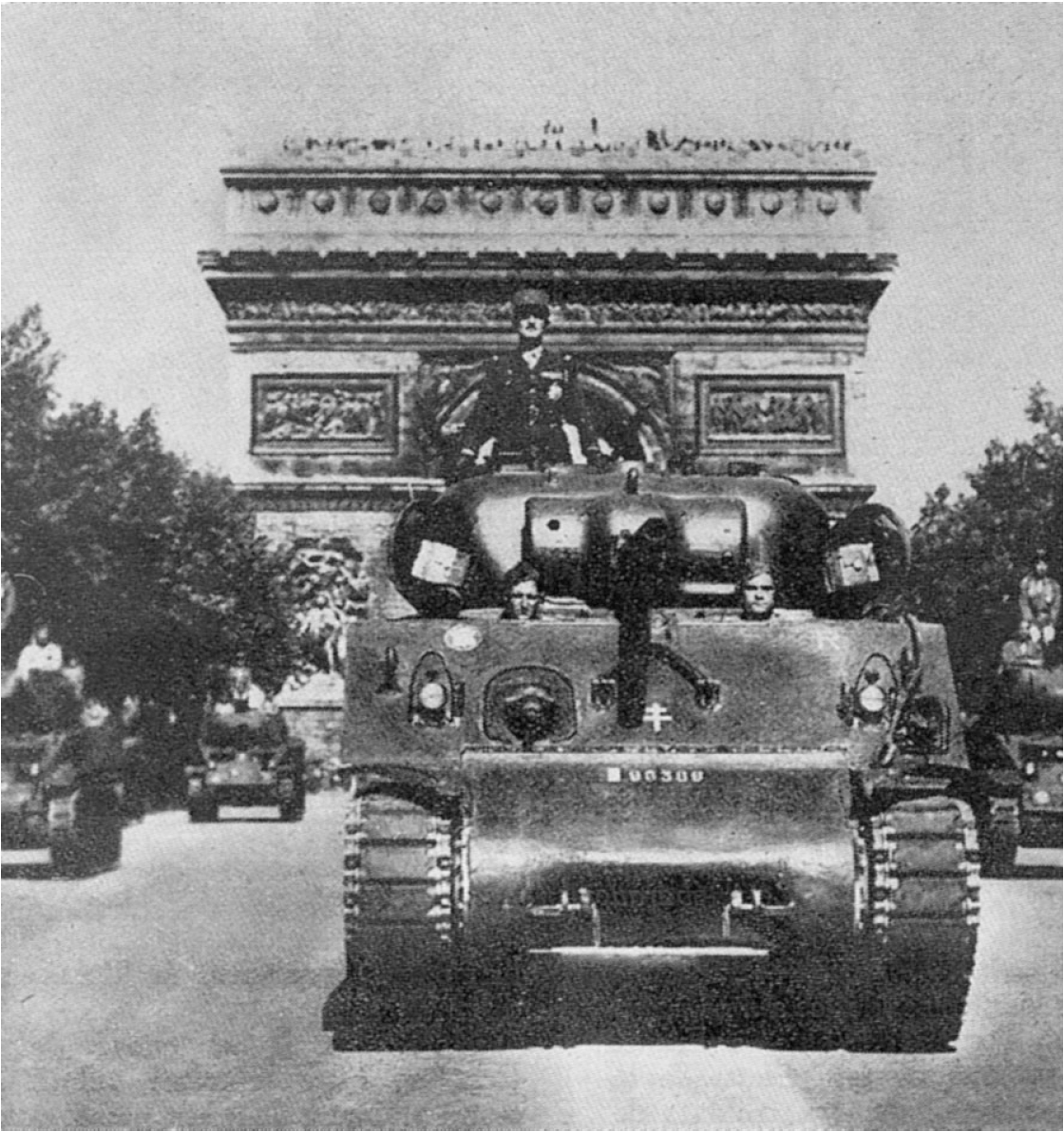 La 2e D.B. (août 1944)