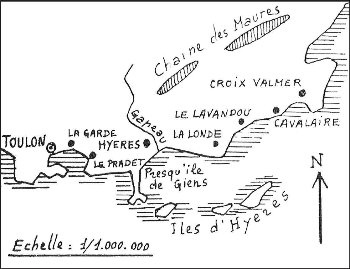 Le bataillon d'infanterie de marine et du Pacifique entre en France avec la 1re D.F.L.
