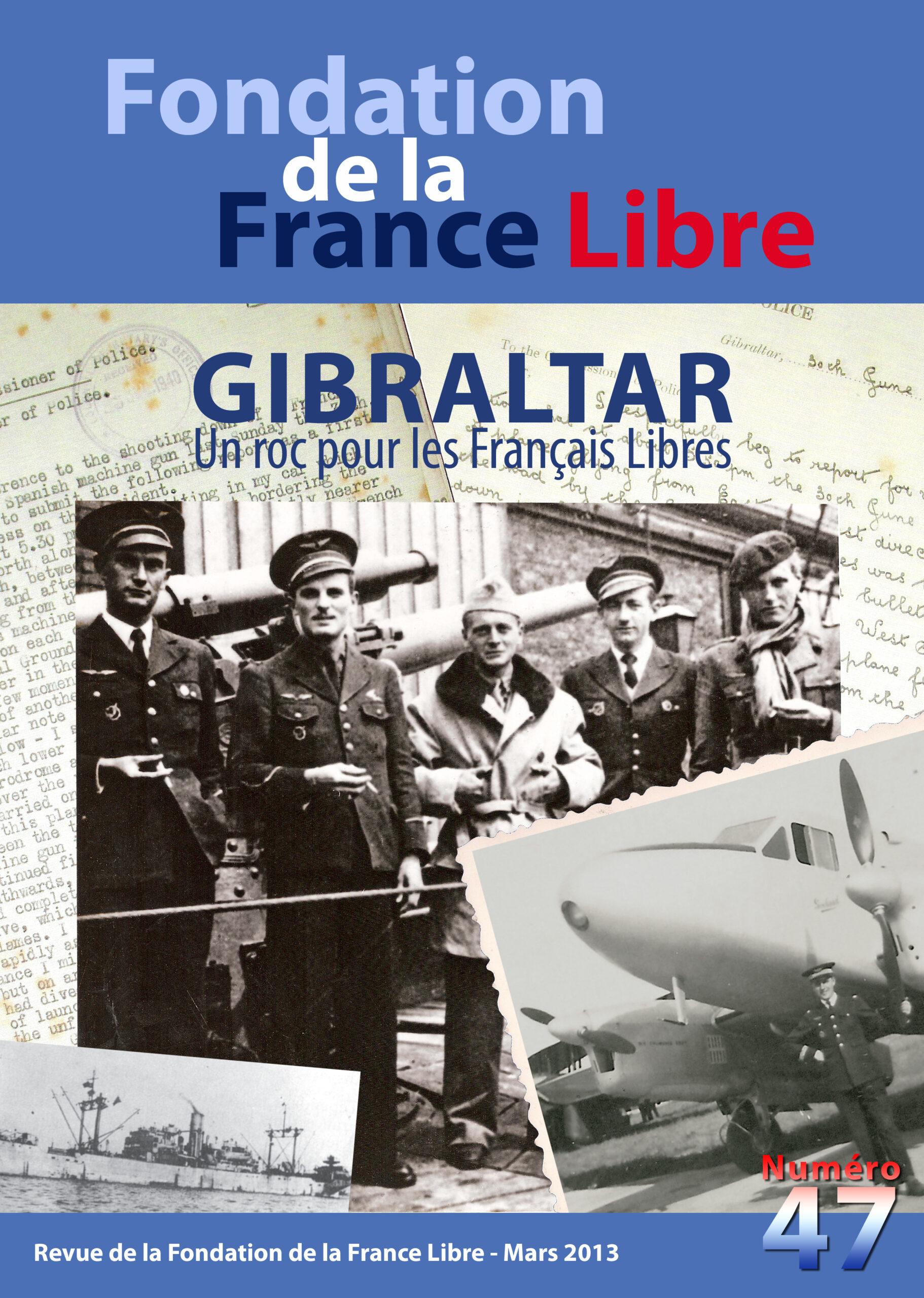 Fondation de la France Libre, n° 47, mars 2013 (périodique)