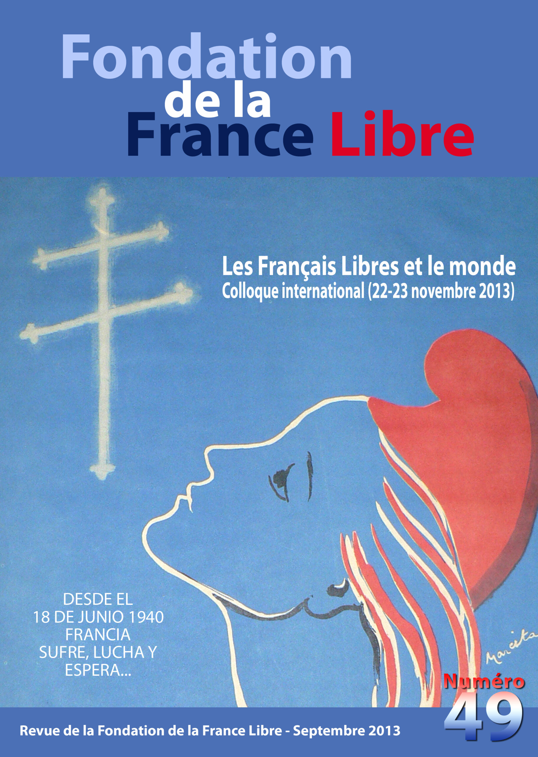 Fondation de la France Libre, n° 49, septembre 2013 (périodique)
