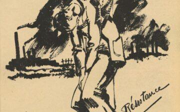Dessins sur la répression allemande