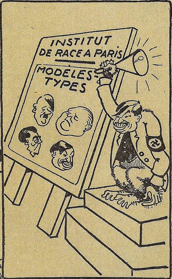 Dénoncer par le dessin l'idéologie nazie : Diran Ajemian
