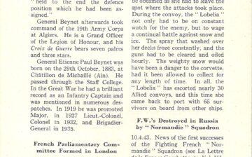 Le ralliement du général Beynet