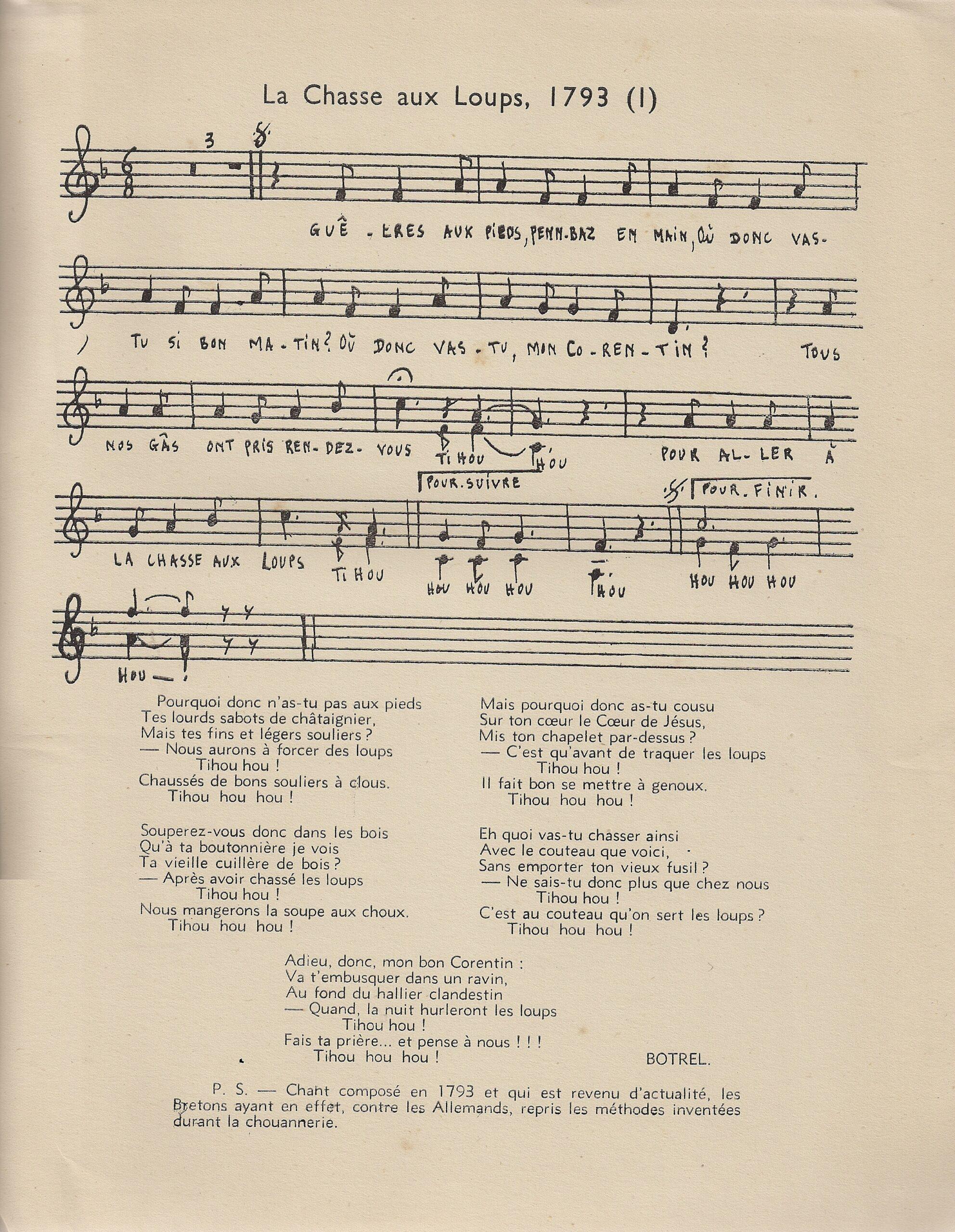 Résister par la chanson