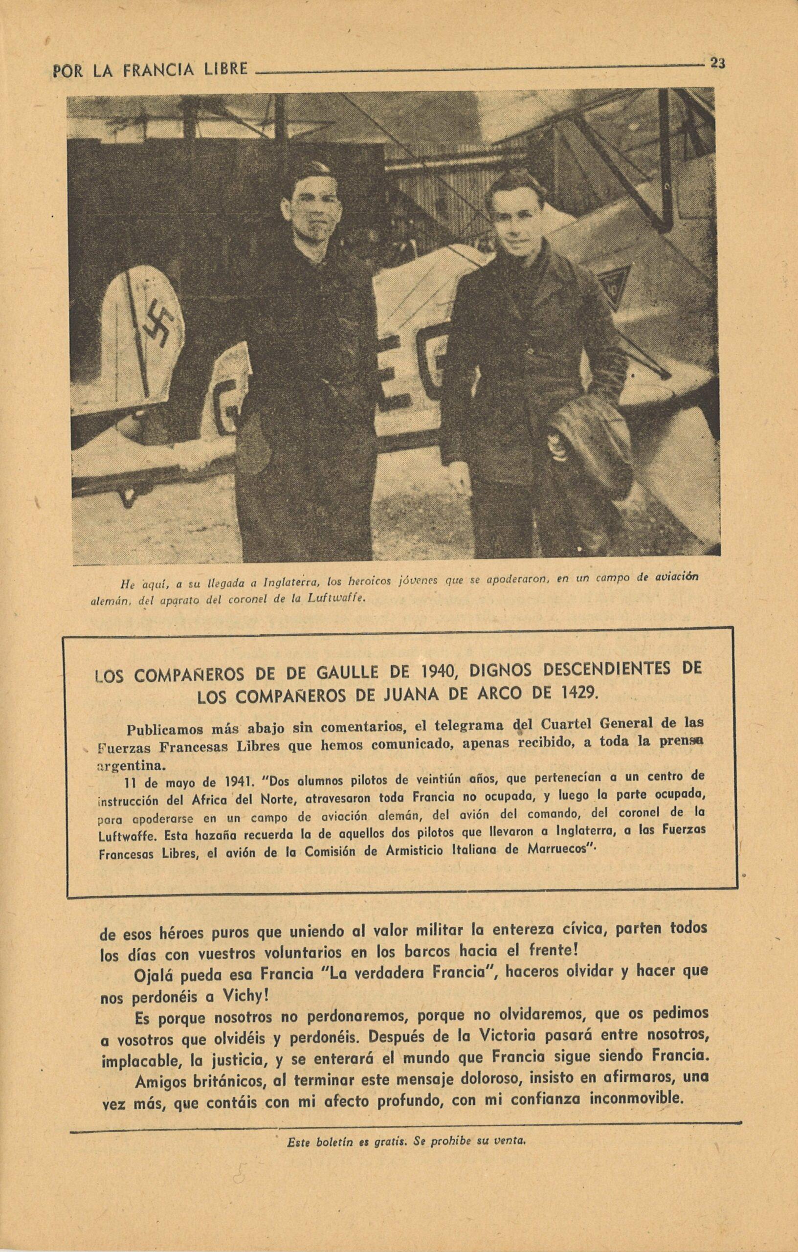 Le ralliement de Denys Boudard et de Jean Hébert