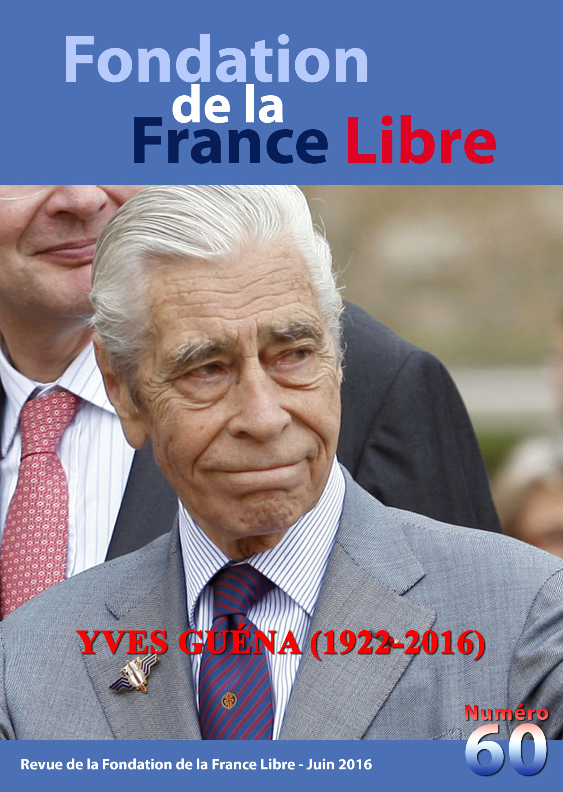 Fondation de la France Libre, n° 60, juin 2016