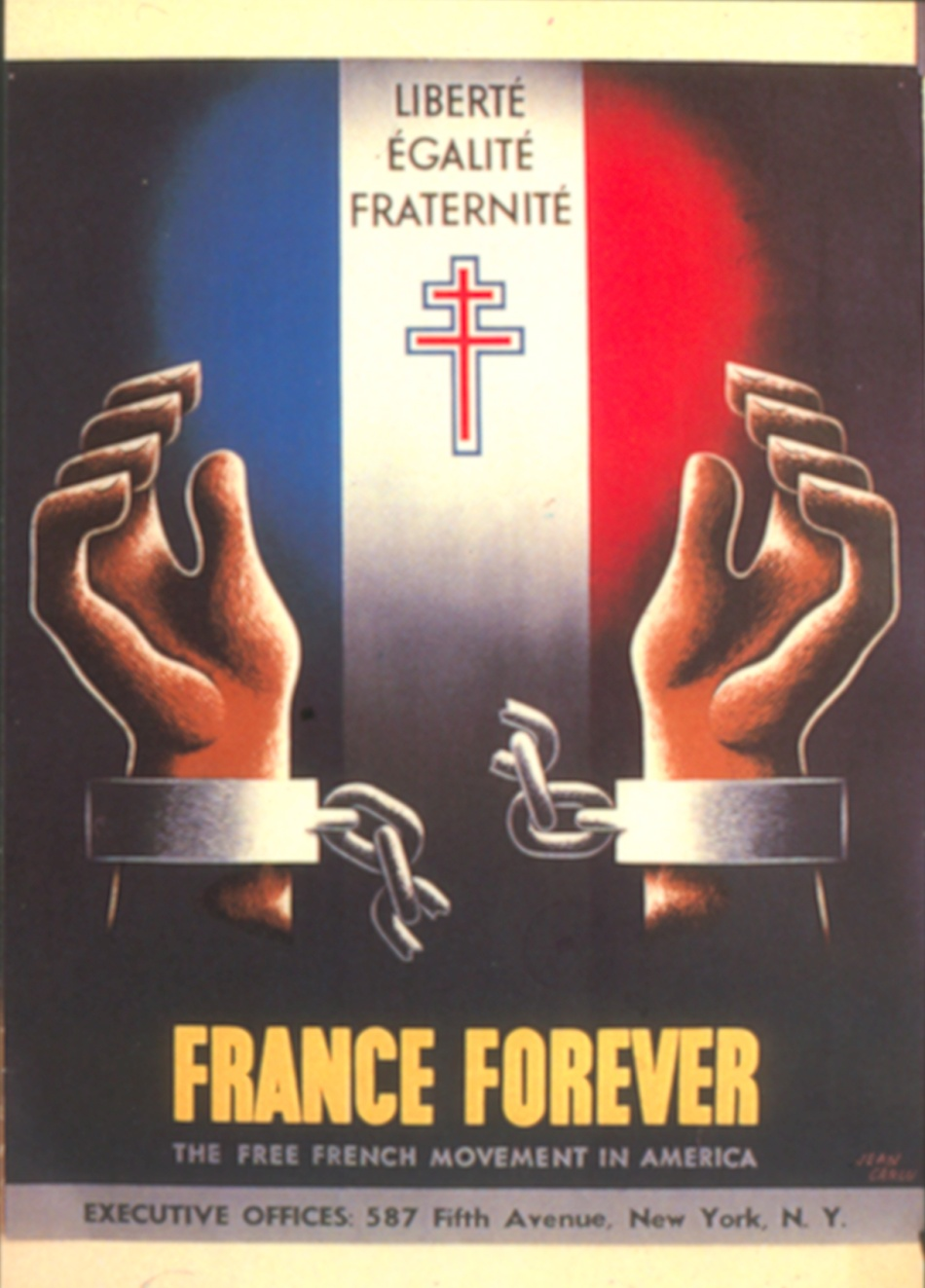 Analyser une affiche : France Forever