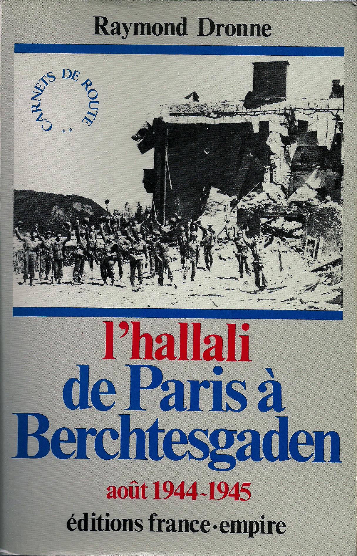 La découverte du camp de Dachau par des hommes de la 2e DB