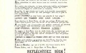 Tract contre l'inscription à la Légion